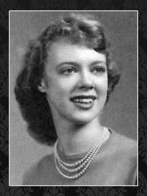 Morrarty Mary Ellen Black Frame picture